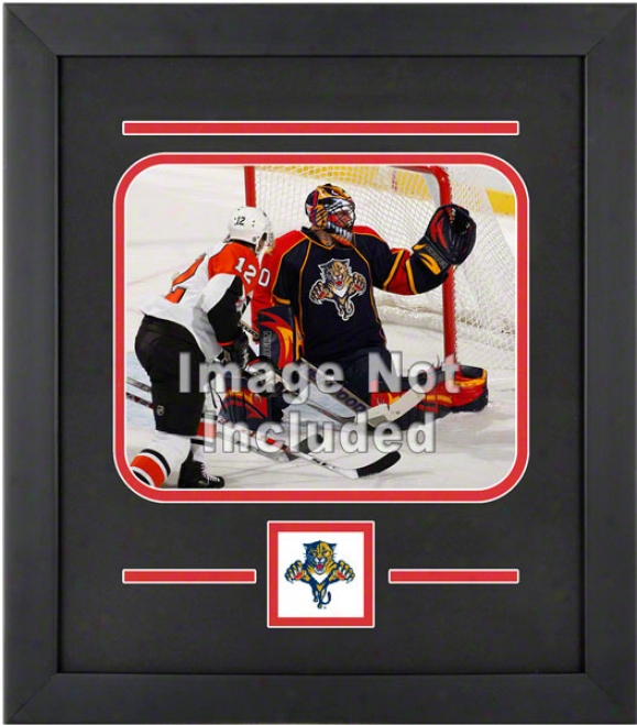 Florida Panthers 8x10 Horizoontal Setup Frame With Team Logo