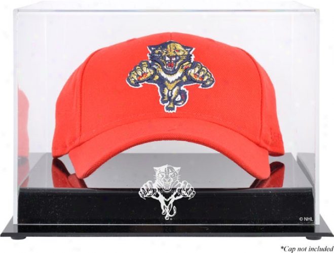 Florida Panthers Acryljc Cap Logo Display Case