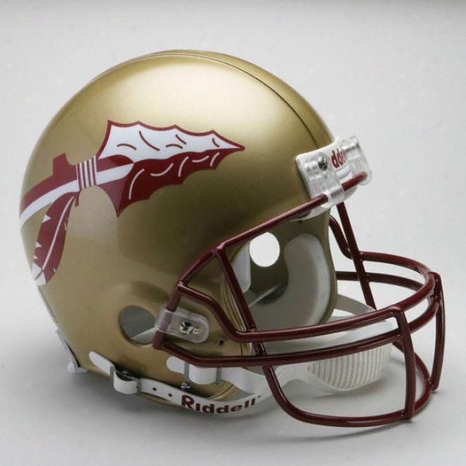Florida State Seminoles Authentic Pro Line Riddell Full Size Helmet