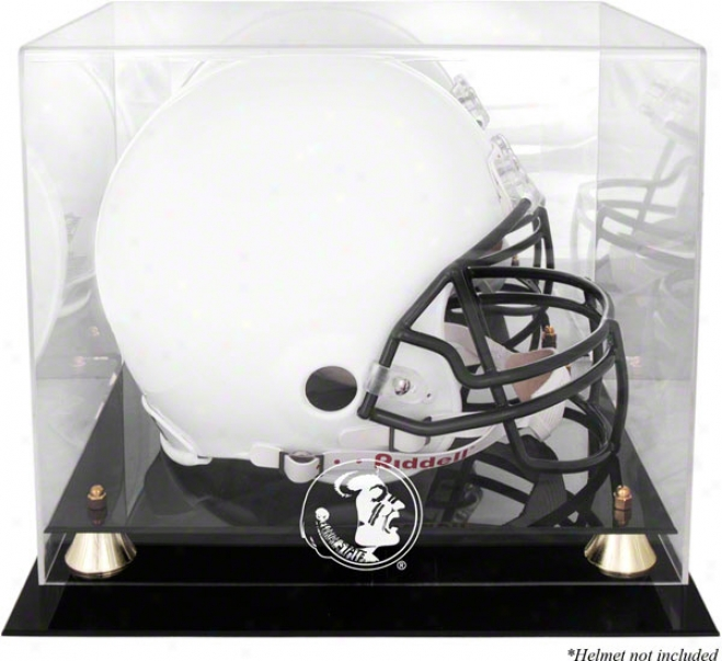 Florida State Seminoles Golden First-rate Helmet Display Case