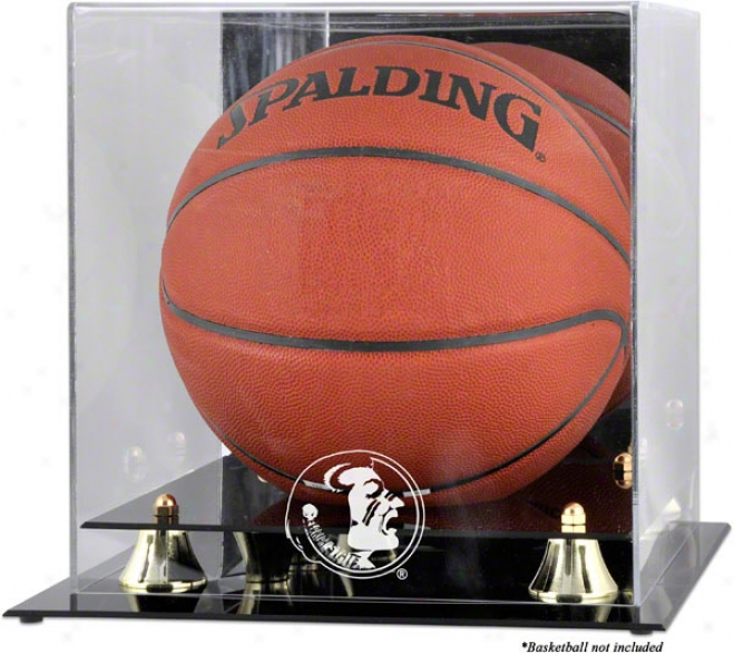 Florida State Semjnoles Golden Classic Lkgo Basketball Display Case