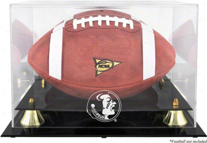 Florida State Seminooles Golden Classic Logo Football Case With Mirror Back