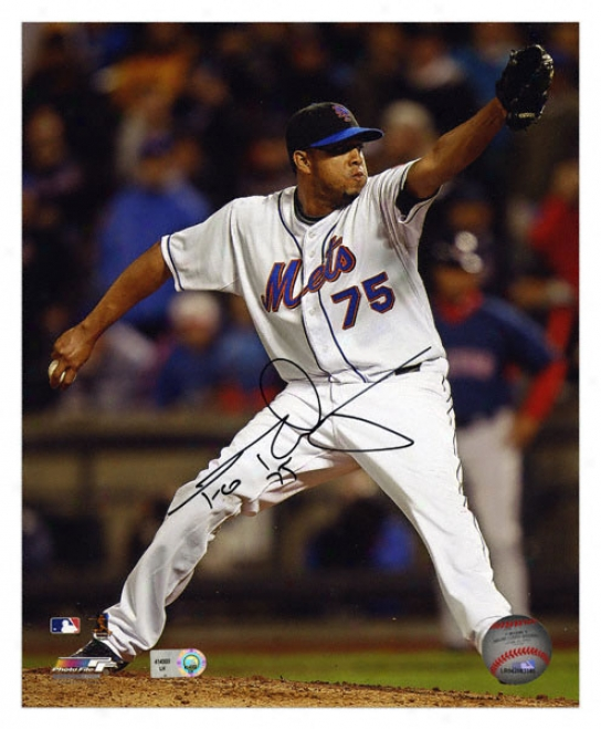 Francisco Rodriguez New York Mets Autographed 8x10 Photograph