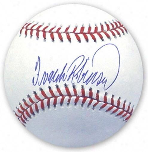 Frank Robinson Autographex Baseball