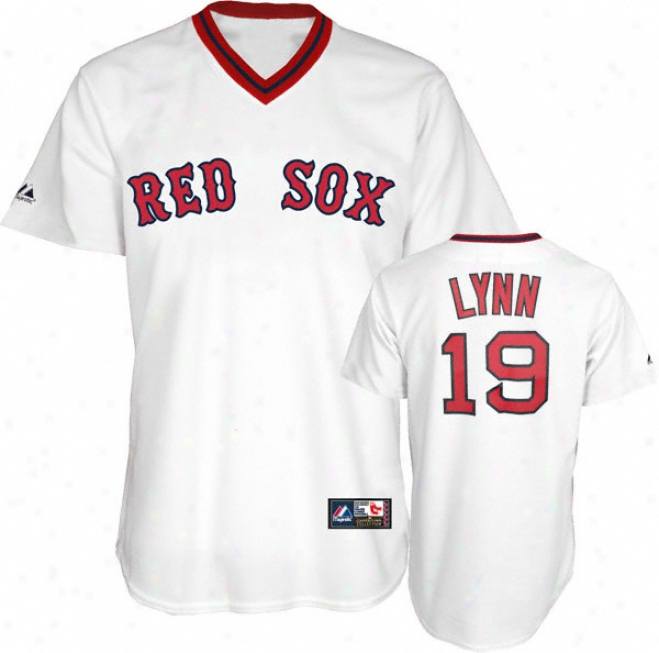 Fred Lynn Boston Red Sox Cooperstown Replica Jersey