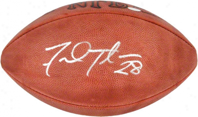 Frdd Taylor Autographed Football  Detials: Pro Football