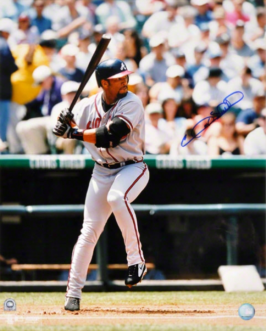 Gary Sheffield Atlanta Braves Autographed Photograph