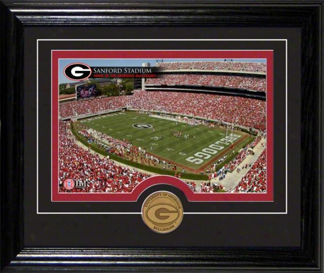 Georgia Bulldogs Sanford Stadium Desktop Photogfaph
