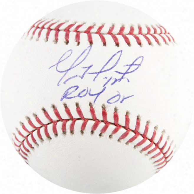 Geovany Soto Autographed Baseball  Details: &quotroy 08&quot Inscription
