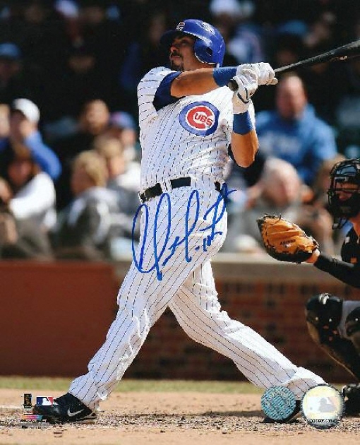 Geovany Soto Chicago Cubs Autographed 8x10 Batting Photo