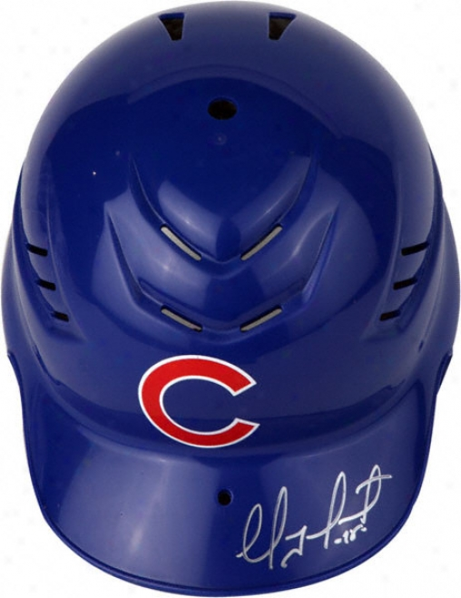 Geovany Soto Chicago Cubs Autographed Cool-flo Replica Batting Helmet