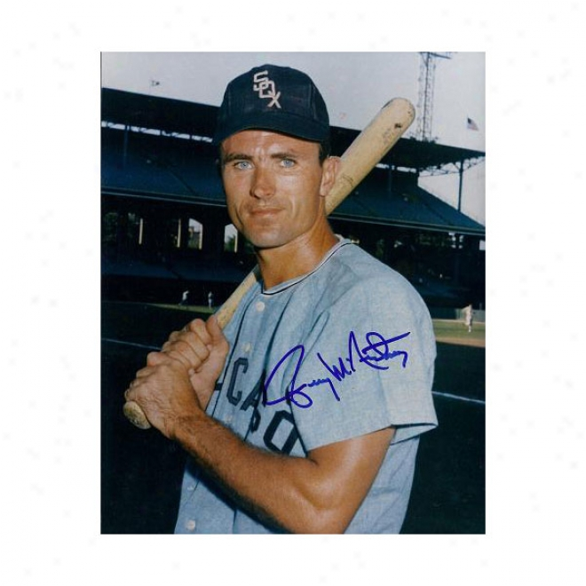 Gerry Mcnertney Autographed Chicago White Sox x810 Photo