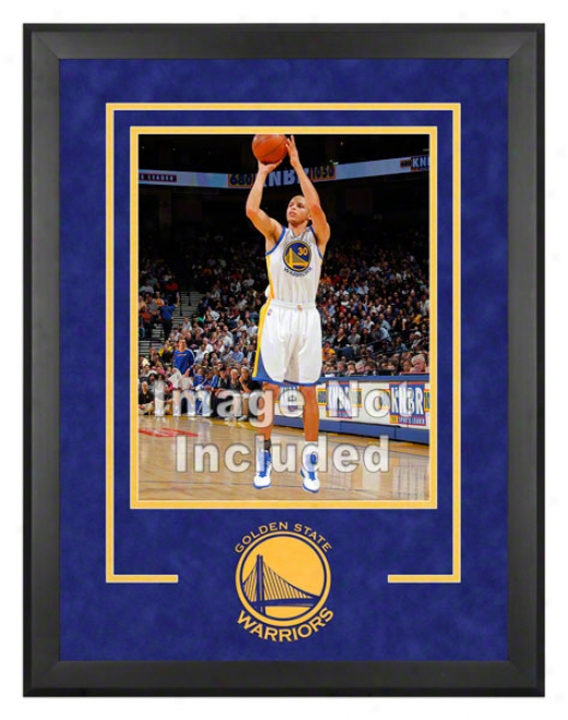 Golden State Warriors 16x20 Vertical Setup Condition Upon Team Logo - Vertical