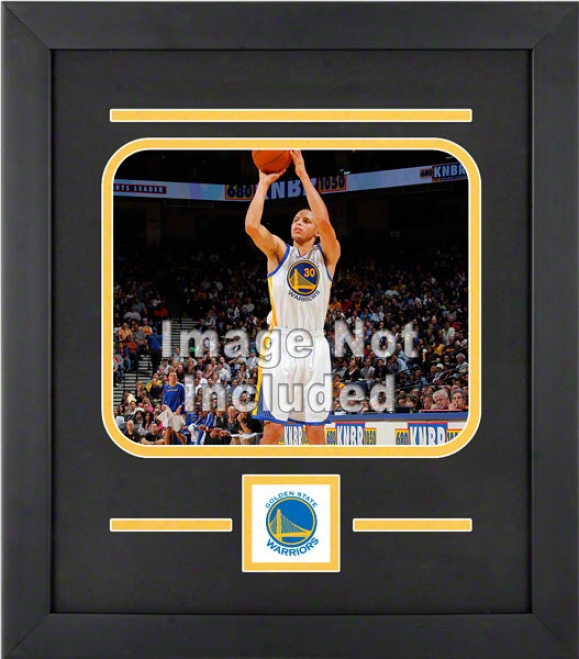 Golden tSate Warriors 8x10 Horizontal Setup Frame With Team Logo