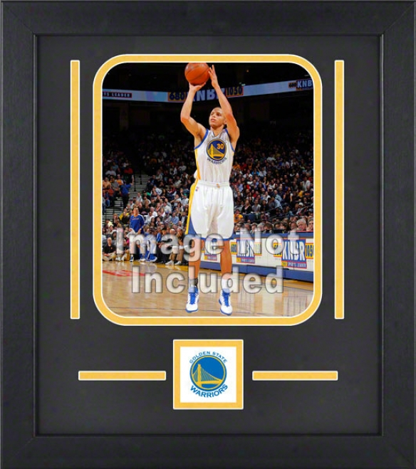 Golden Pomp Warriors 8x10 Vertical Setup Frame With Team Logo