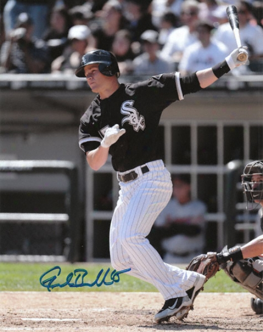 Gordon Beckham Chicago White Sox Autographed 8x10 Photograph