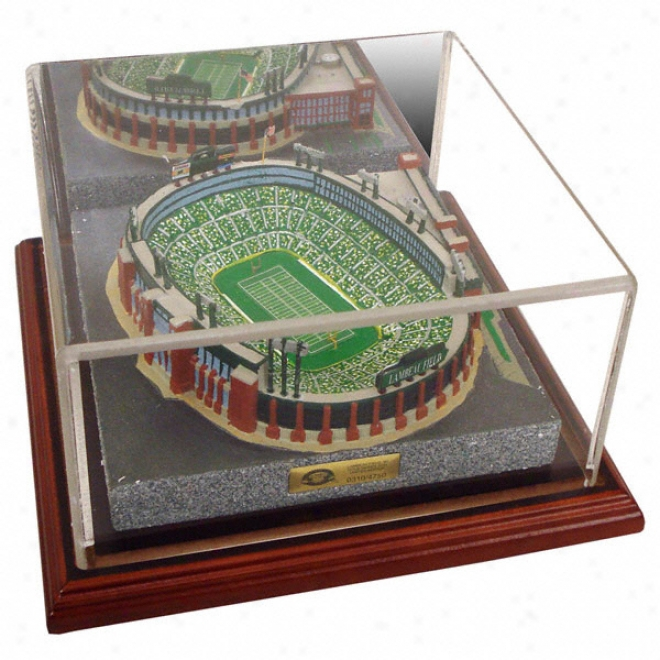 Green Bay Packers Lambea uField Replica With Case - Gold Series