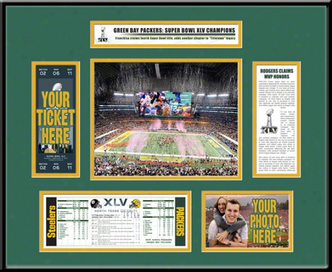 Green Bay Packers Super Bowl Xlv Champions Ticket Invent