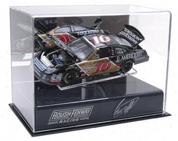 Greg Biffle 1/24th Die Cast Display Declension-form With Platform