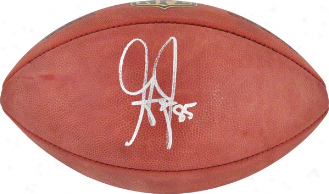 Greg Jennings Autographed Football  Details: Green Bay Packers, Duke Pro Football