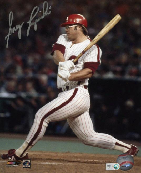Greg Luzinski Philadelphia Phillies Autographed 8x10 Photograph