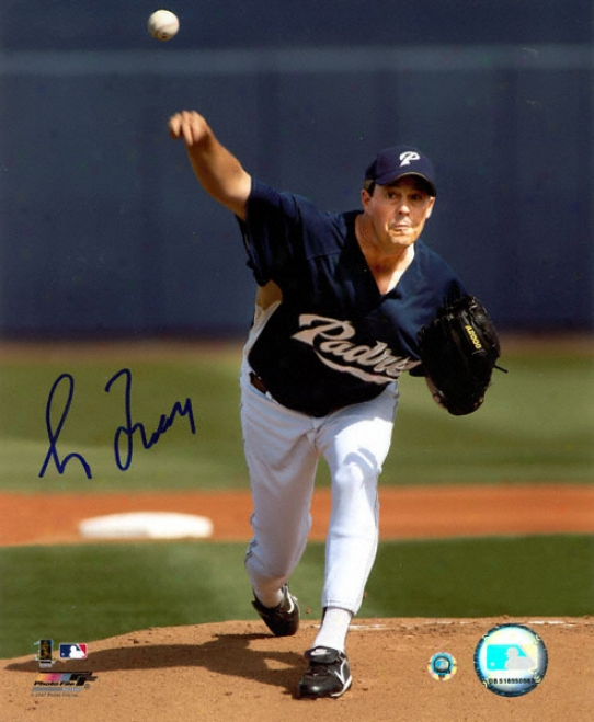 Greg Maddux San Diego Padres Autographed 8x10 Photograph