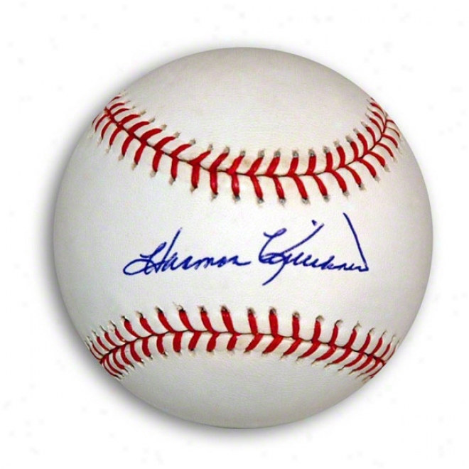 Harmon Killebrew Autographed Oml Baseball