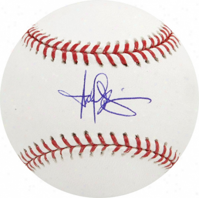 Harold Baihes Autographed Baseball