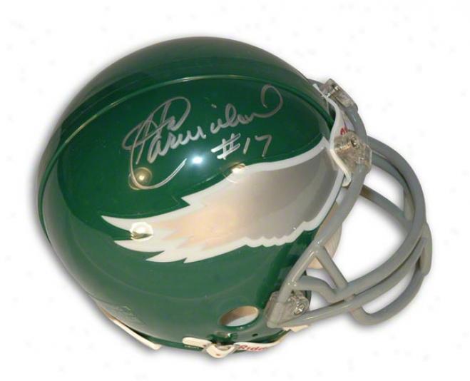 Harold Carmichae Autographedl Philadelphia Eagles Mini Helmet