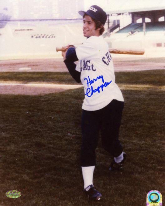 Harry Chappas Chicago Whjte Sox 8x10 Autographed Photograph