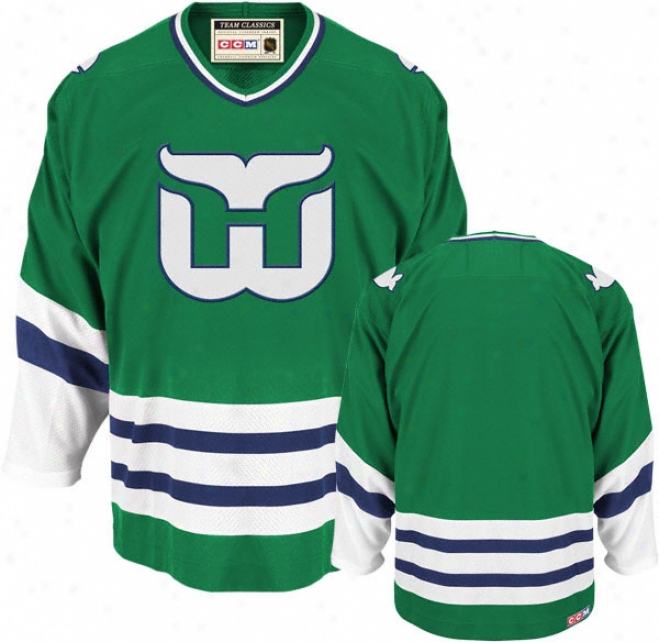 Hartford Whalers New Reebok Tea mClassic Throwback Jersey