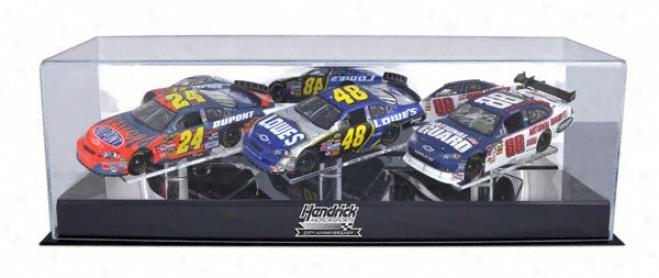Hendrick Motorsports 25th Anniversary 1/24th Scale Three Car Case