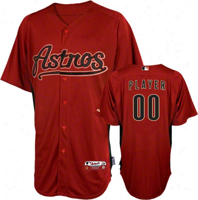 Housto Astros Jersey: Any Player Authentic Brick On-field Batting Practice Jersey