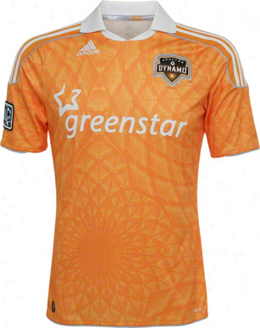 Houston Dynamo Adidas Soccer Re0lica Home Jersey