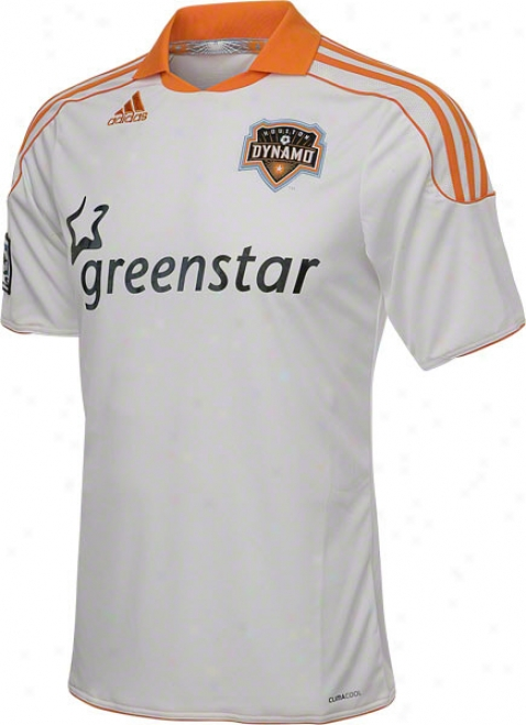 Houston Dynamo White Adiads Replica Away Jersey