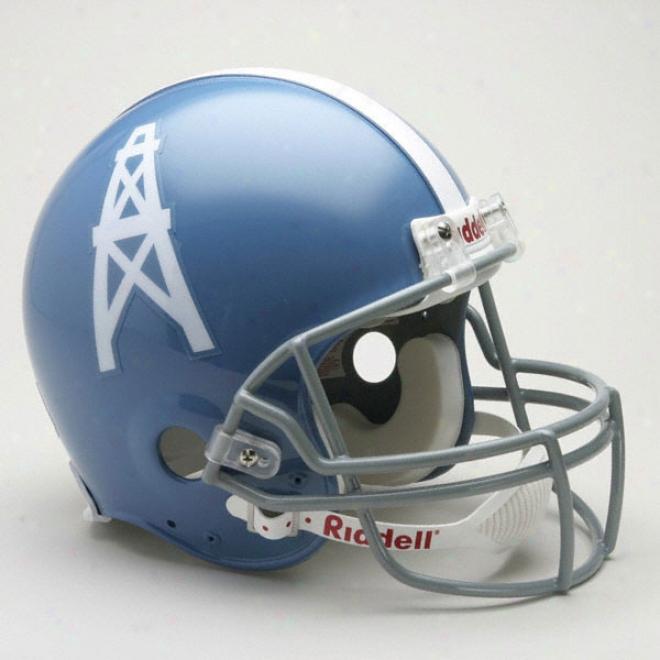Houston Oilers 1960-1963 Authentic Pro Line Riddell Throwback Full Size Helmet