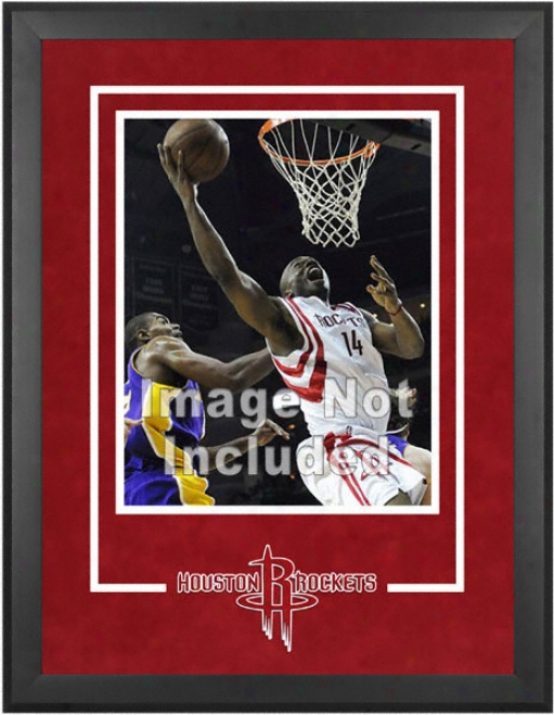 Houston Rockets 16x20 Vertical Setup Frame With Team Logo