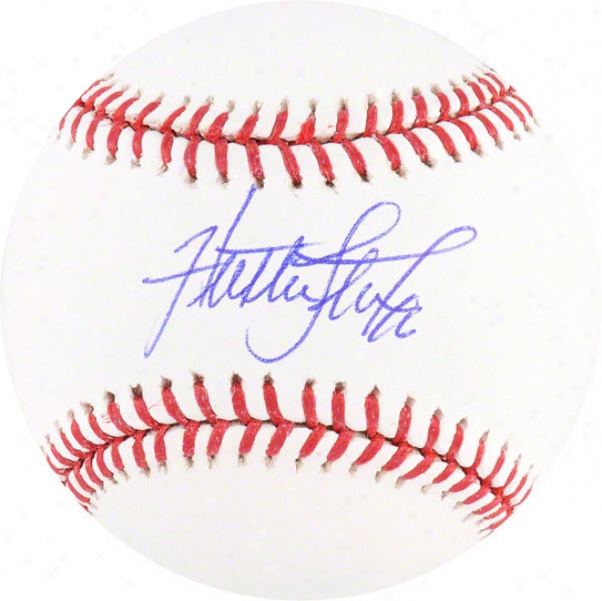 Huston Street Autographed Mlb Baseball  Details: Colorado Rockies