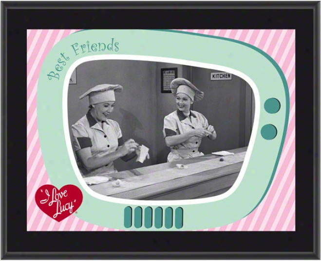 I Love Lucy - The Chlcoltae Factory - Sublimated 10x13 Plaque