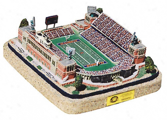 Illinois Fighting Illini Memorial Stadium Replica - Gold Series