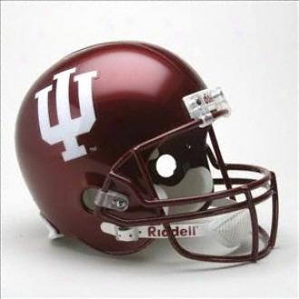 Indiana Hoosiers Delxe Replica Riddell Helmet