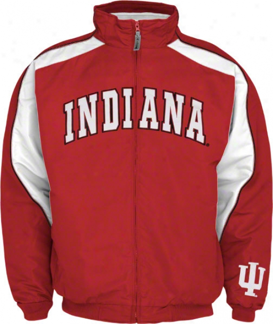 Indiana Hoosiers Element Full Zip Jacket