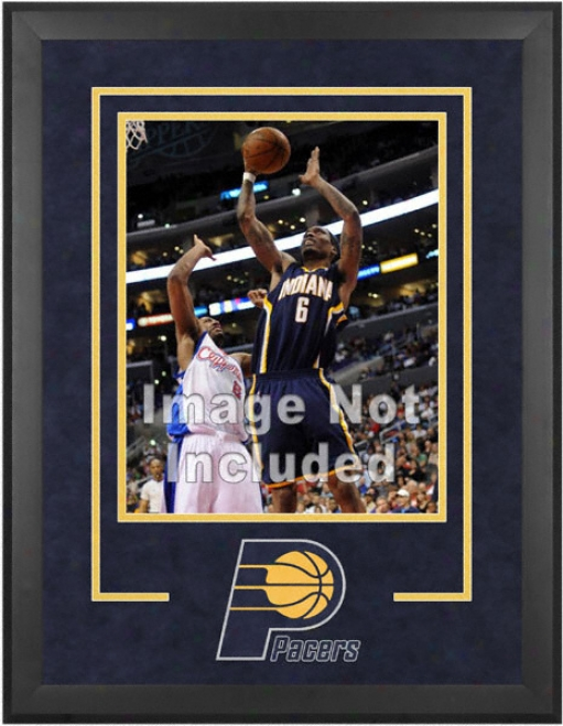 Indiana Pacers 16x20 Vertical Setup Fabricate With Team Logo