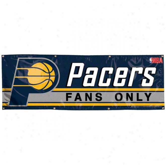 Indiana Pacers 2x6 Vinyl Banner