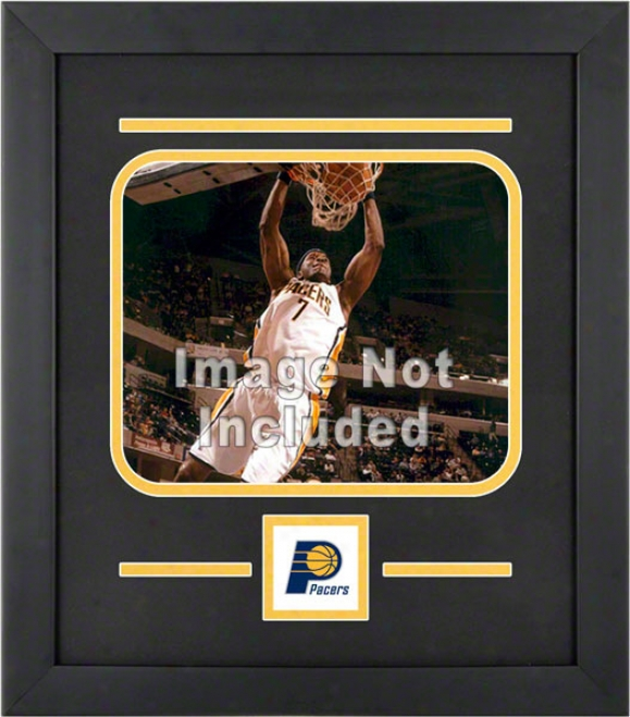 Indiana Pacers 8x10 Horizontal Setup Frame With Team Logo