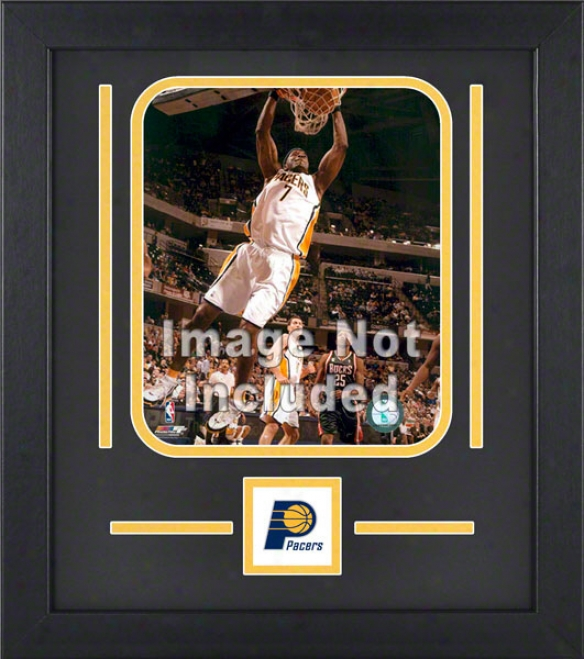 Indians Pacers 8x10 Vertical Setup Frame With Team Logo