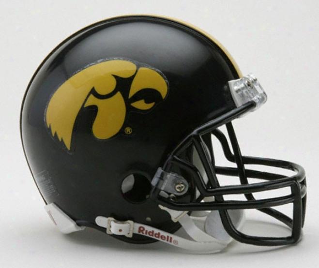 Iowa Hawkeyss Riddell Mini Helmet