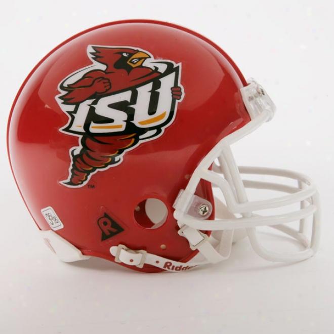 Iowa Rank Cyclones Mini Football Helmets
