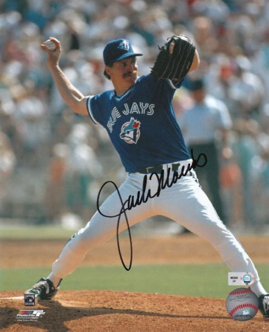 Jack Morris Toronto Blue Jays Autograaphed 8x10 Photograph