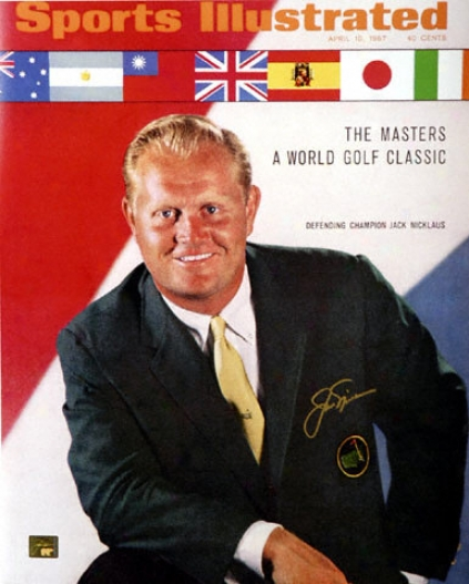 Jack Nicklaus - April 1967 Sports Illustrated Cover - Autographed 16x20 Photograph